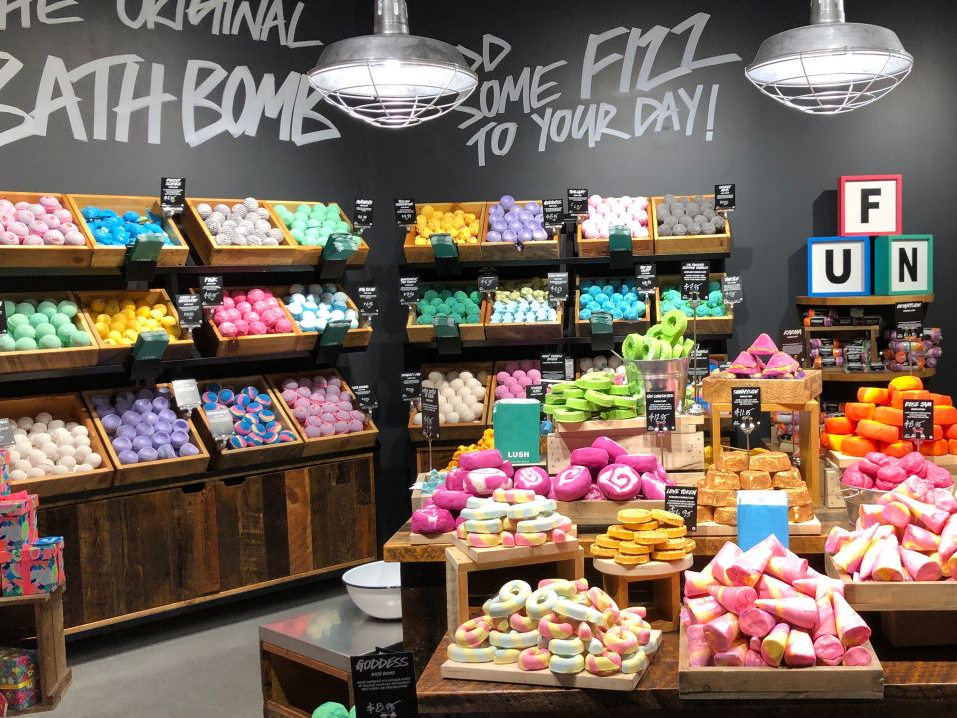 Lush to expand its high-tech 'Naked' store concept